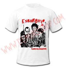 Camiseta MC Eskorbuto (Blanca)