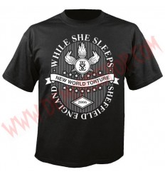 Camiseta MC While She Sleeps