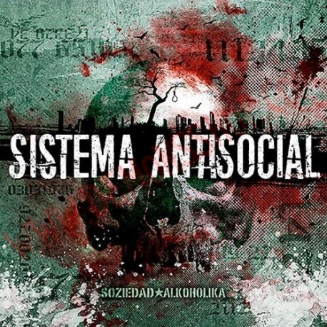 Vinilo LP Soziedad Alkoholika - Sistema Antisocial