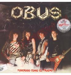 Vinilo LP Obus - Poderoso como el trueno