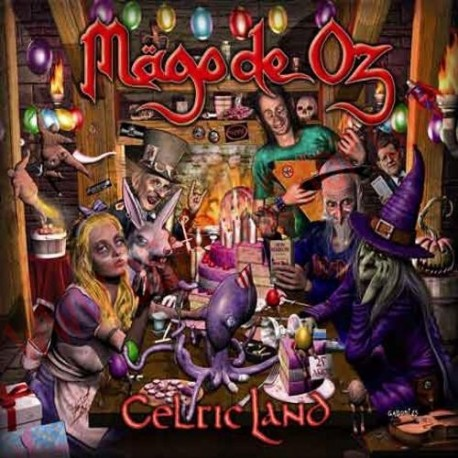 CD Mago de Oz - Celtic land