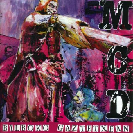 Vinilo LP MCD - bilboko Gaztetxean