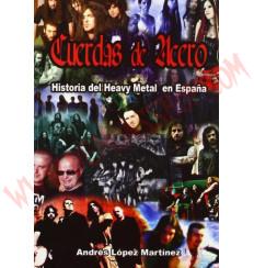 Libro Cuerdas de acero - historia del heavy en España