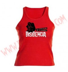 Camiseta Chica Tirantes Disidencia (Roja)