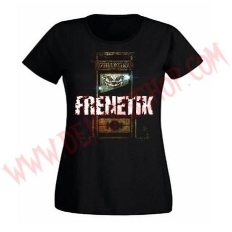 Camiseta Chica MC Frenetik