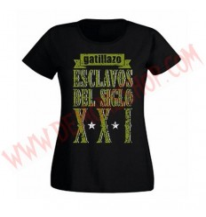 Camiseta Chica MC Gatillazo