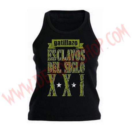 Camiseta Chica Tirantes Gatillazo