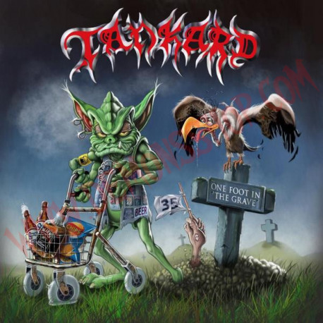 CD Tankard - One foot in the grave