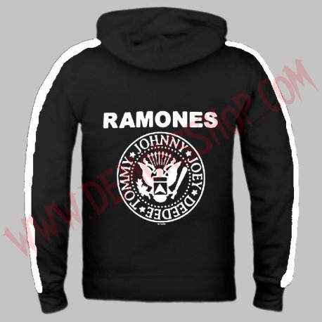 Sudadera Cremallera Ramones