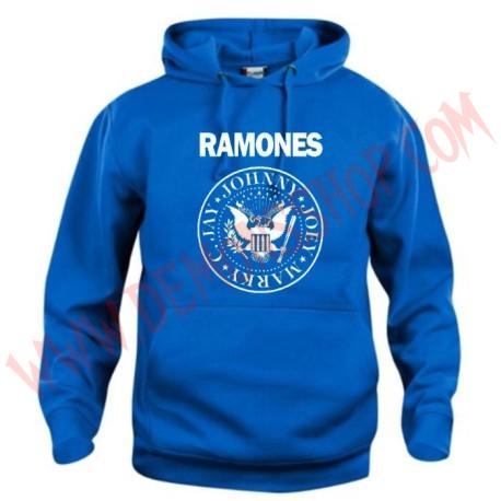 Sudadera Ramones Azul