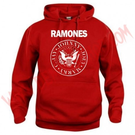 Sudadera Ramones Roja