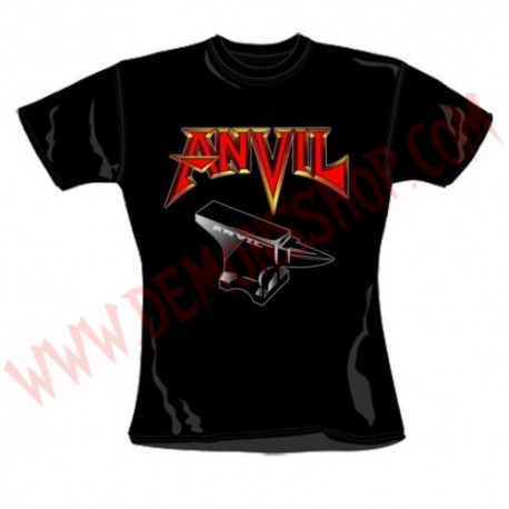 Camiseta Chica MC Anvil