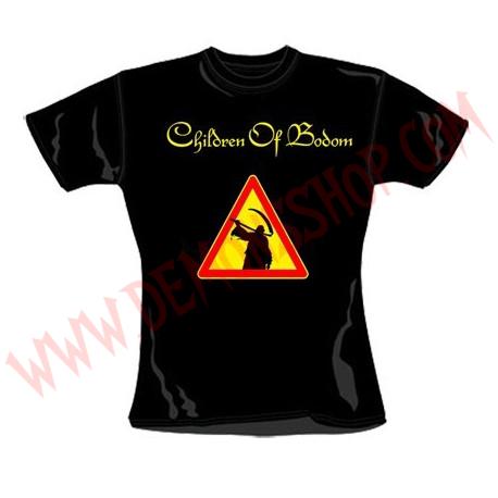 Camiseta Chica MC Children of Bodom