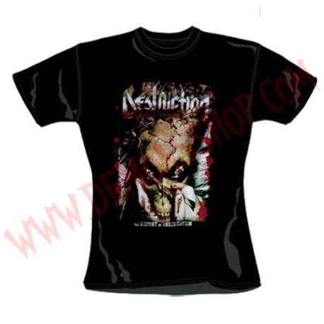 Camiseta Chica MC Destruction