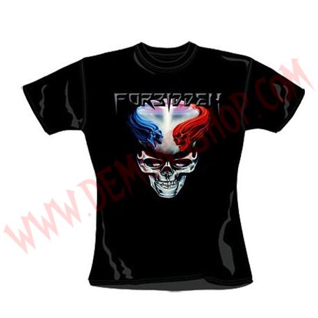 Camiseta Chica MC Forbidden