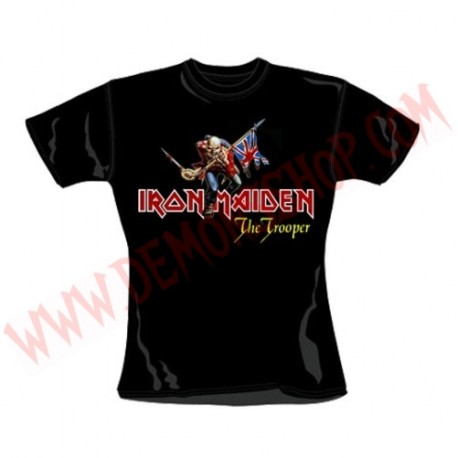 Camiseta Chica MC Iron Maiden