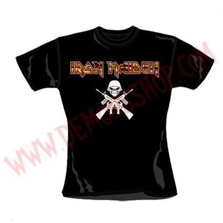 Camiseta Chica MC Iron Maiden