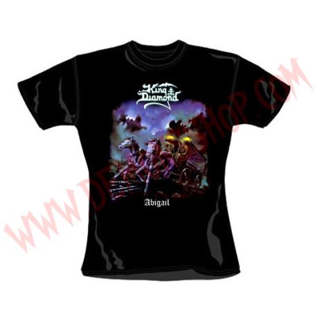 Camiseta Chica MC King Diamond