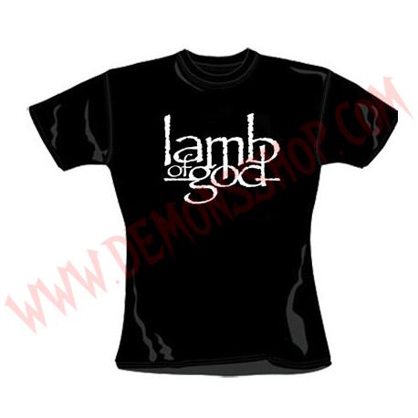 Camiseta Chica MC Lamb of God