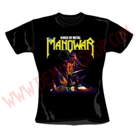 Camiseta Chica MC Manowar