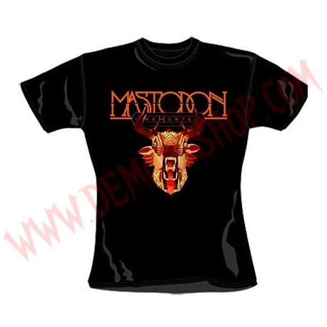 Camiseta Chica MC Mastodon