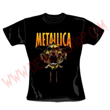 Camiseta Chica MC Metallica