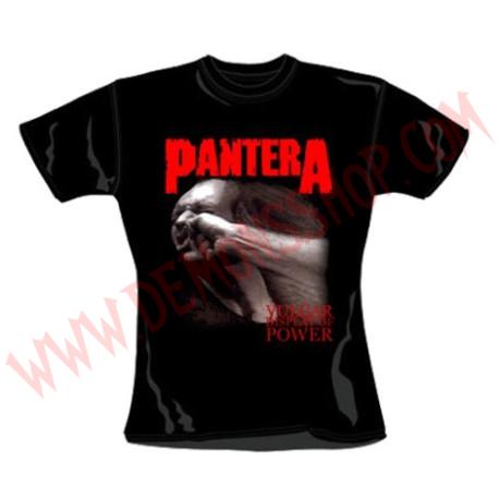 Camiseta Chica MC Pantera