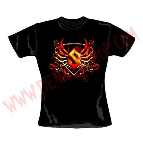 Camiseta Chica MC Sabaton