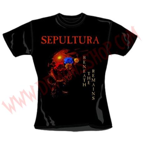 Camiseta Chica MC Sepultura