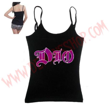Camiseta Chica Tirantes Dio
