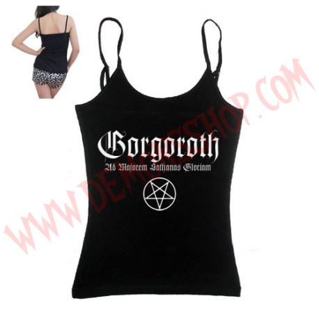 Camiseta Chica Tirantes Gorgoroth