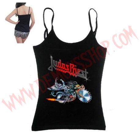 Camiseta Chica Tirantes Judas Priest