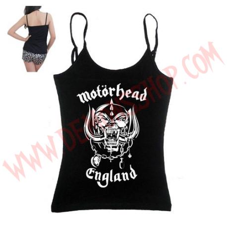 Camiseta Chica Tirantes Motorhead