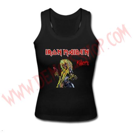 Camiseta Chica Tirantes Iron Maiden