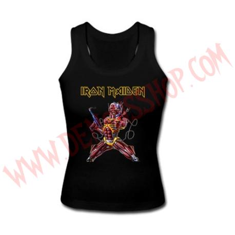 Camiseta Chica SM Iron Maiden