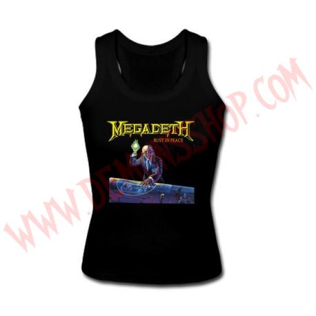 Camiseta Chica SM Megadeth