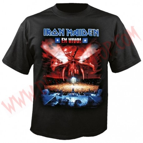 Camiseta MC Iron Maiden