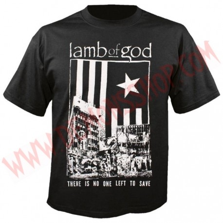 Camiseta MC Lamb of God
