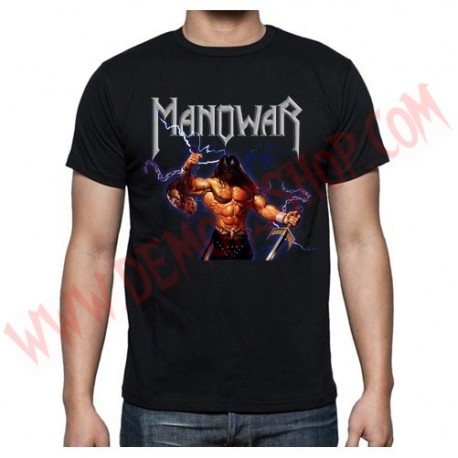 Camiseta MC Manowar