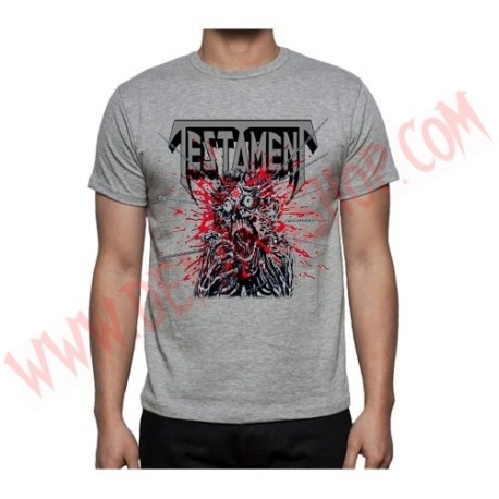 Camiseta MC Testament