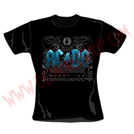 Camiseta Chica MC Ac Dc