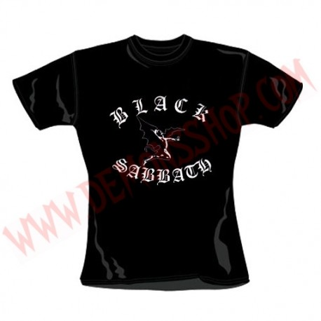Camiseta Chica MC Black Sabbath