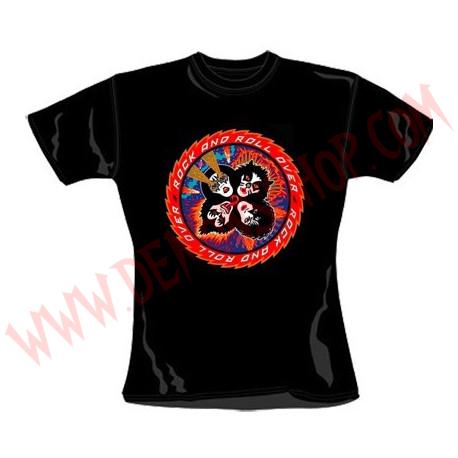 Camiseta Chica MC Kiss