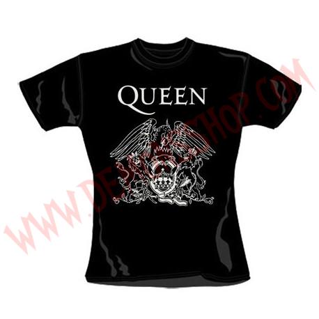 Camiseta Chica MC Queen