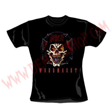 Camiseta Chica MC Slayer