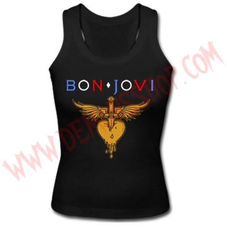Camiseta Chica SM Bon Jovi