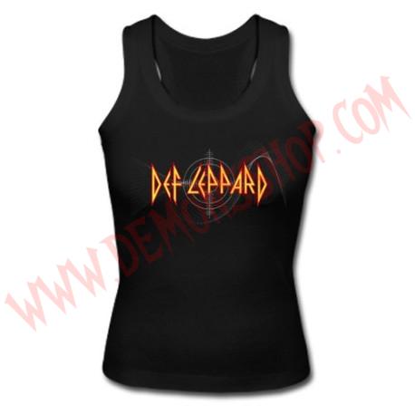 Camiseta Chica SM Def Leppard