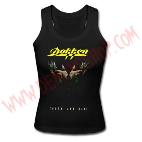 Camiseta Chica SM Dokken