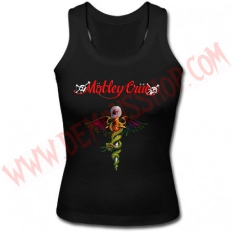 Camiseta Chica SM Motley Crue