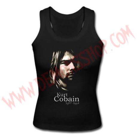 Camiseta Chica SM Kurt Kobain (Nirvana)